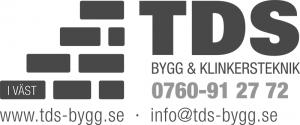 TDS Bygg & Klinkersteknik i Väst